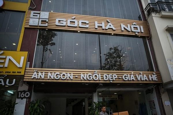 Chuỗi nhà hàng Góc Hà Nội