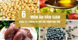 6 món ăn trị mồ hôi trộm theo kinh nghiệm dân gian