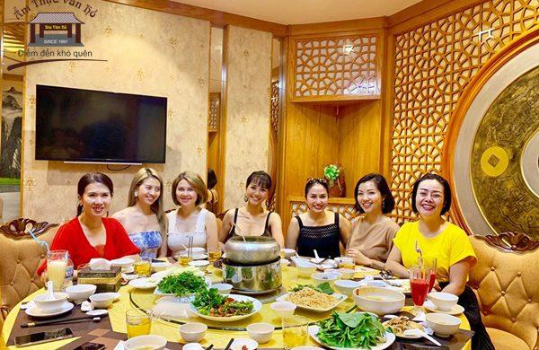 Ẩm thực Vân Hồ – quán ăn ngon, sạch, đẹp tại Hà Nội không thể bỏ qua