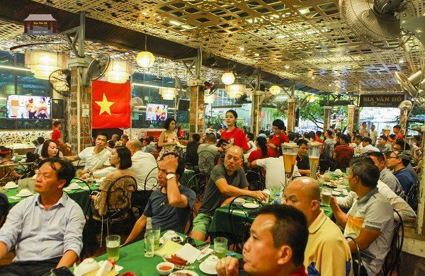 Cháy hết mình cùng đội tuyển U23 Việt Nam với Bia Vân Hồ