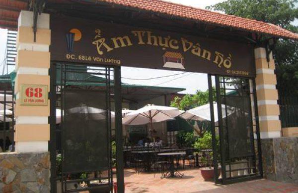 Nhà hàng Ẩm thực Vân Hồ