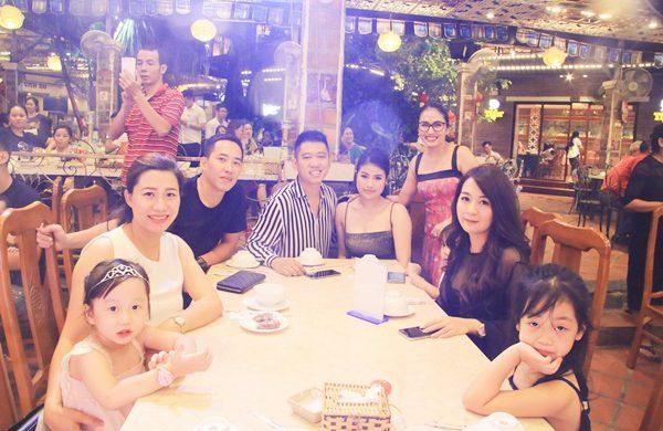 Quán ăn gia đình cuối tuần Hà Nội có không gian riêng tư, phù hợp với các gia đình có trẻ nhỏ