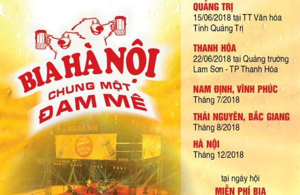 Tưng bừng chào đón ngày hội Bia Hà Nội 2018