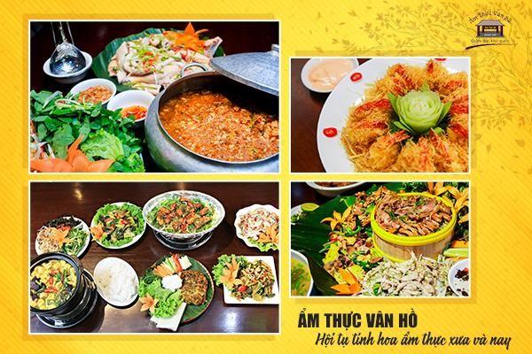 ẩm thực Vân Hồ