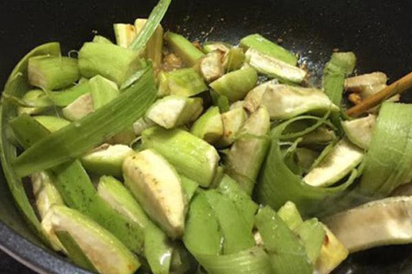 cách nấu ốc chuối xanh