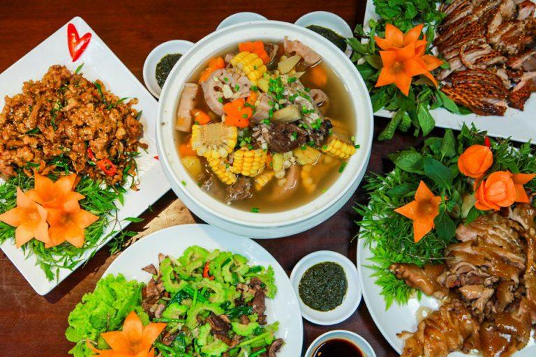 Nhà hàng tổ chức sinh nhật tại Hà Nội – Ẩm thực Vân Hồ