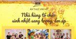 Ẩm thực Vân Hồ – địa điểm tổ chức sinh nhật, hội họp lý tưởng